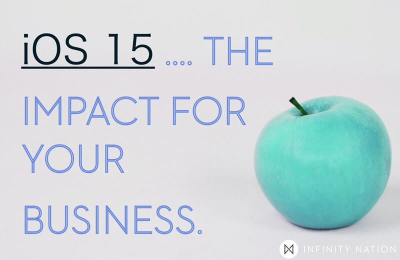 Post Image for iOS 15   How It Will Affect Your Marketing   Infinity Nation