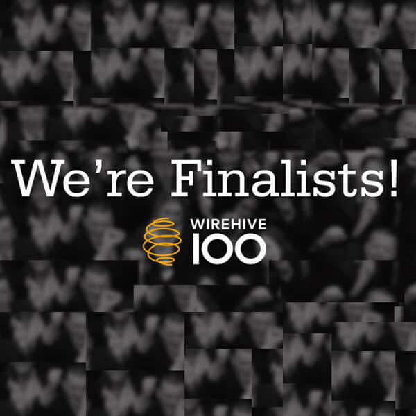 Just In! We're Finalists! | Wirehive 100 Awards